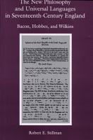 The New Philosophy and Universal Languages in Seventeenth century England PDF