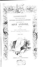 Jaerboeken van het souvereine Gilde der Kolveniers, Busschieters en Kanonniers gezegd Hoofdgilde van Sint Antone, te Gent
