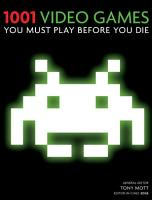 1001 Video Games You Must Play Before You Die PDF