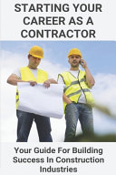 Starting Your Career As A Contractor PDF
