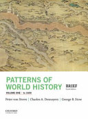 Patterns of World History  Volume One  To 1600