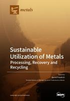 Sustainable Utilization of Metals PDF