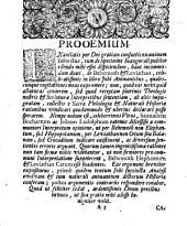Behemoth Et Leviathan, Elephas et Balaena, e Job. XL. XLI.