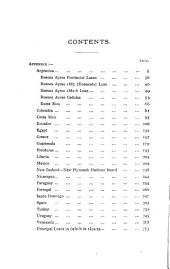 Appendix to the 22d Annual General Report of the Council, for the Year 1894