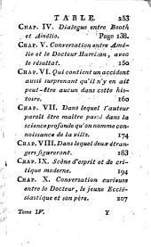 Amélie Booth: Histoire Anglaise. 4