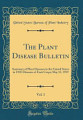 The Plant Disease Bulletin  Vol  1