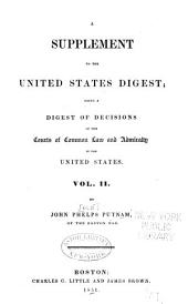 United States Digest: Digest of the Decisions of the Courts of Common Law and Admiralty in the United States, Volume 5