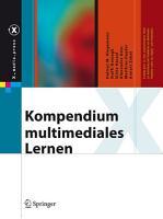 Kompendium multimediales Lernen PDF