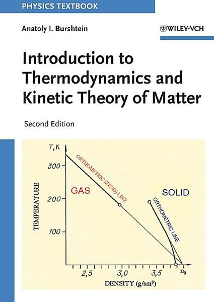 Introduction To Thermodynamics And Kinetic Theory Of Matter