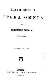 Opera omnia: Volume 6