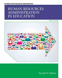 Human Resources Administration in Education  Pearson Etext Access Card PDF