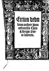 Eccius dedolatus