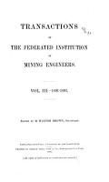 The Mining Engineer PDF