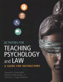 Activities for Teaching Psychology and Law PDF