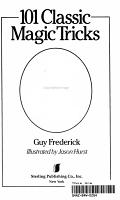 101 Classic Magic Tricks PDF