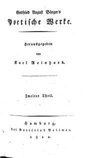 Sämmtliche Werke: Poetische Werke ; 2, Volume 2