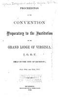 Proceedings G  L  of Va   1837 1859   I  O  O  F  PDF
