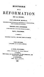 Histoire de la réformation de la Suisse: Volume7