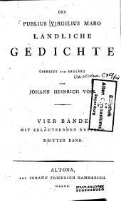 Ländliche Gedichte: vier Bände mit erläuternden Kupfern, Band 3