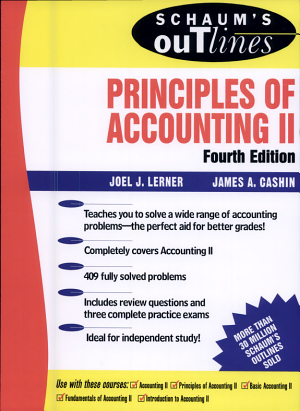 Schaum's Outline of Principles of Accounting II
