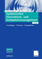 Systemisches Innovations  und Kompetenzmanagement PDF