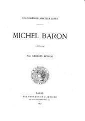 Michel Baron (1653-1729): un comédien amateur d'art