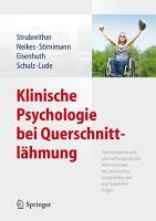 Klinische Psychologie bei Querschnittl  hmung PDF