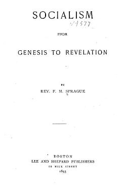 Socialism from Genesis to Revelation PDF