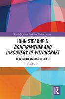 John Stearne   s Confirmation and Discovery of Witchcraft PDF