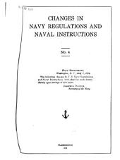 Regulations for the Government of the Navy of the United States: (Navy Regulations) 1913, Part 1