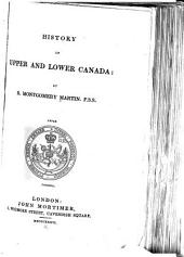 History of Upper and Lower Canada