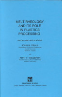 Melt Rheology and Its Role in Plastics Processing PDF