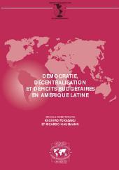 Séminaires du Centre de Développement Démocratie, décentralisation et déficits budgétaires en Amérique latine