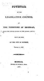 Journal of the Legislative Council of the Territory of Michigan: Volume 2