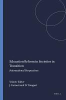 Education Reform in Societies in Transition PDF