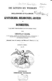 De levens en werken der Hollandsche en Vlaamsche kunstschilders, beeldhouwers, graveurs en bouwmeesters: van den vroegsten tot op onzen tijd