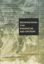 Redesigning the Financial Aid System