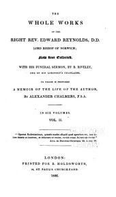 The Whole Works of the Right Rev. Edward Reynolds, Lord Bishop of Norwich: Volume 2