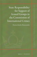 State Responsibility for Support of Armed Groups in the Commission of International Crimes PDF