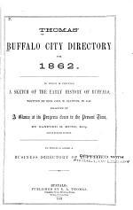 Thomas' Buffalo City Directory for ...