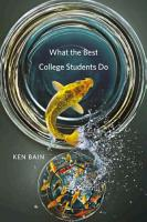 What the Best College Students Do PDF