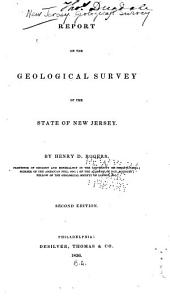 Report on the Geological Survey of the State of New Jersey