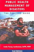 Public Health Management of Disasters PDF