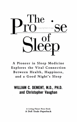 The Promise Of Sleep Book PDF