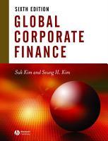 Global Corporate Finance PDF