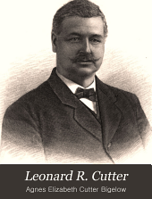 Leonard R. Cutter: In Memoriam. July 1, 1825-July 13, 1894