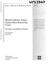 Would Collective Action Clauses Raise Borrowing Costs?