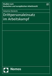 Drittpersonaleinsatz im Arbeitskampf PDF