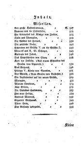 Kleine Romane, Erzählungen, Anecdoten und Miscellen: Band 5