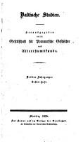 Baltische Studien PDF
